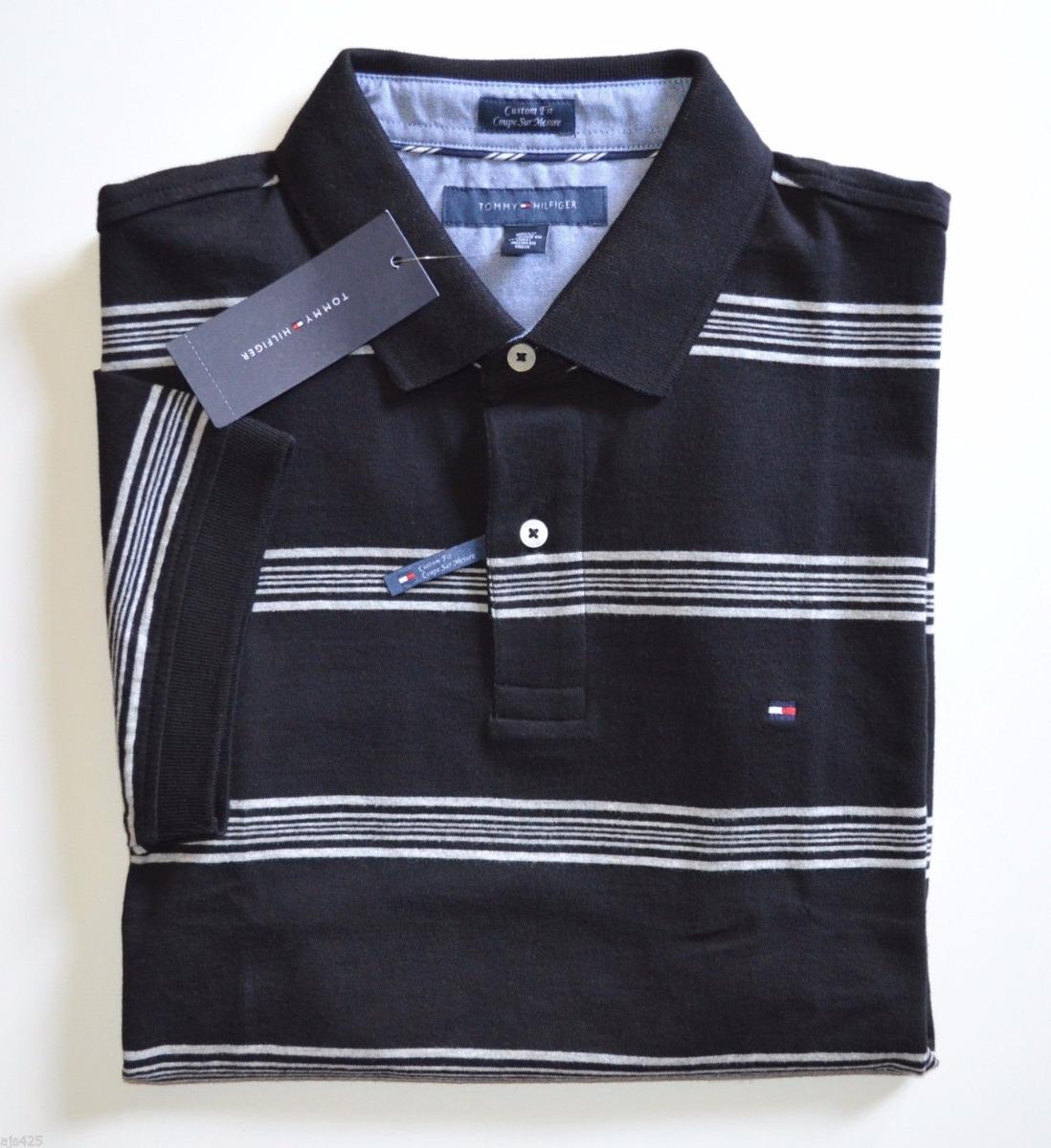 camisa polo tommy hilfiger tamanho p   s modelos custom fit. Carregando zoom . a099d6b677df4