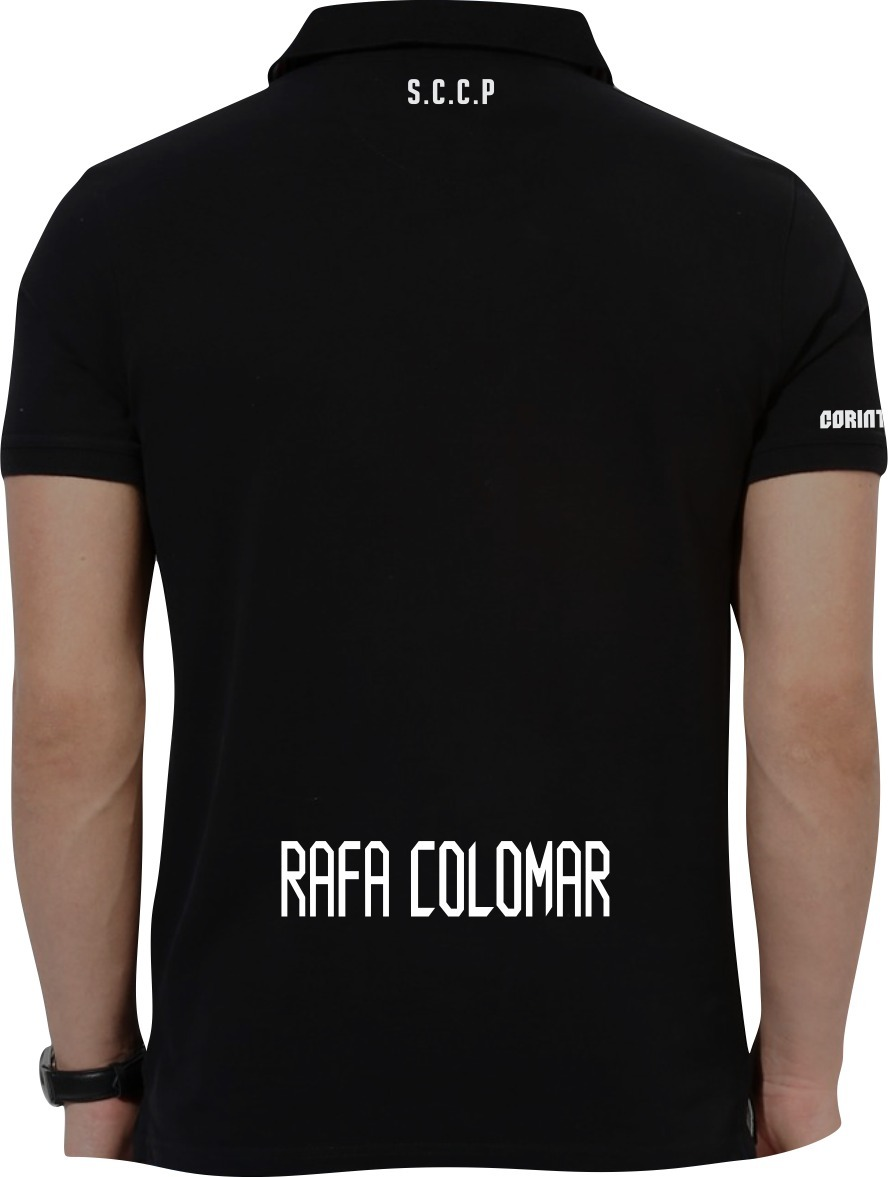 camisa polo torcedor corinthians personalizado nome. Carregando zoom. 00c884c2a8eea