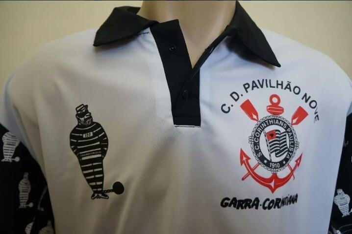 Camisa Polo Torcida Pavilha9pavilhão 9 - R  95 8d9c65e5c4826