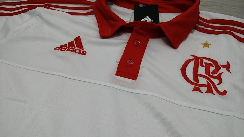 00ecea9092 camisa polo treino flamengo branca 2015. Carregando zoom.