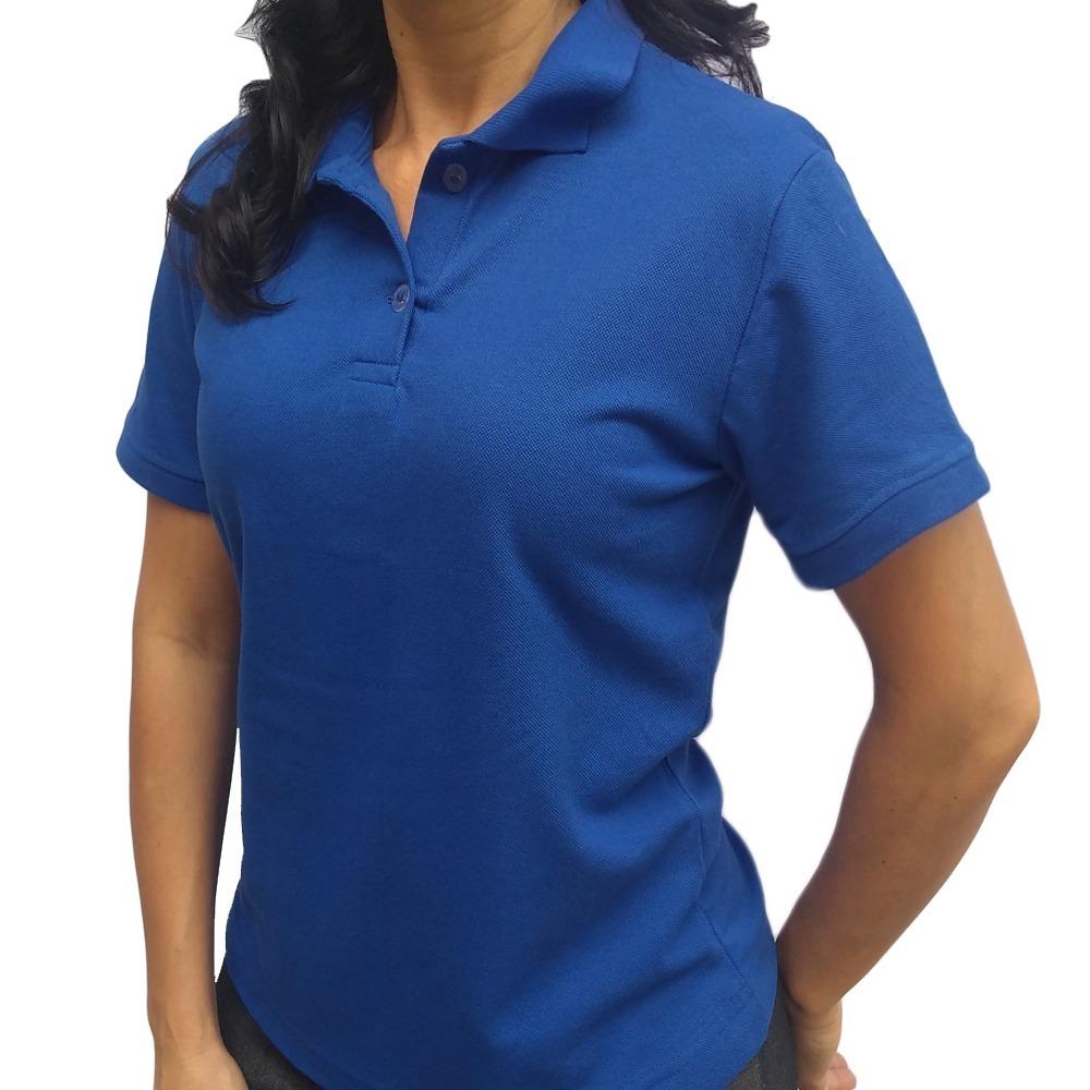 camisa polo uniforme bordada logo personalizada camiseta. Carregando zoom. 665ae86ccb380