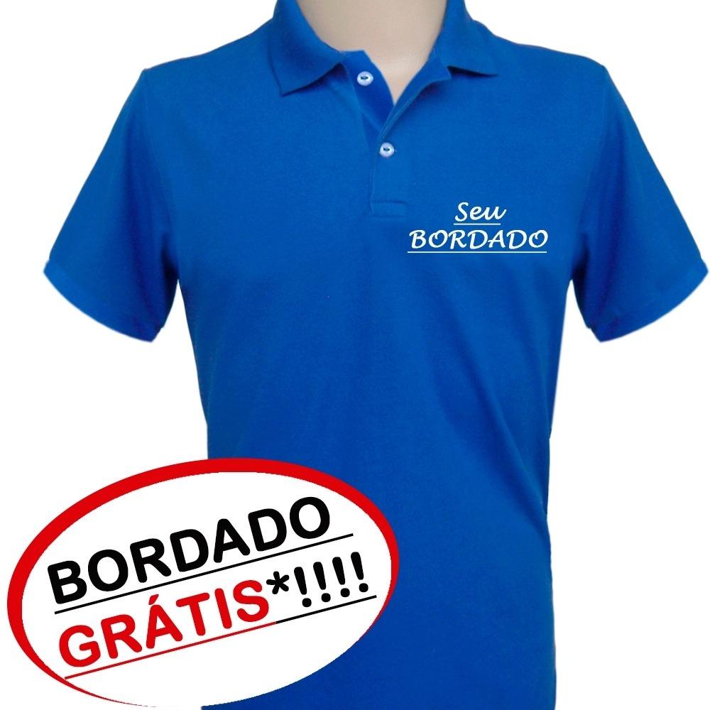 b483b71b1 camisa polo uniforme empresas - com a sua logomarca bordada. Carregando zoom .