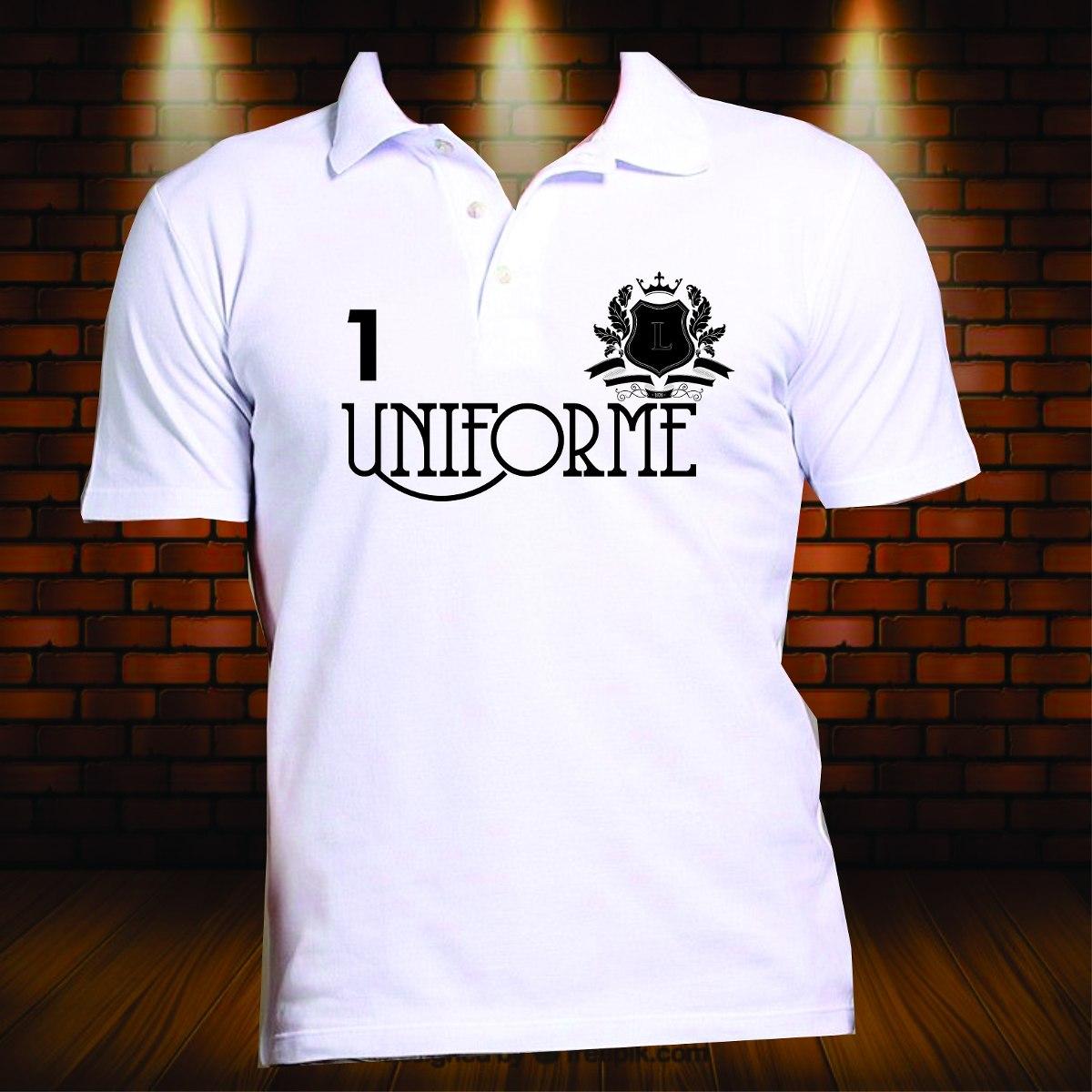a59062e32f Vender um igual. camisa polo uniforme personalizada com logo de sua  empresa. Carregando zoom.