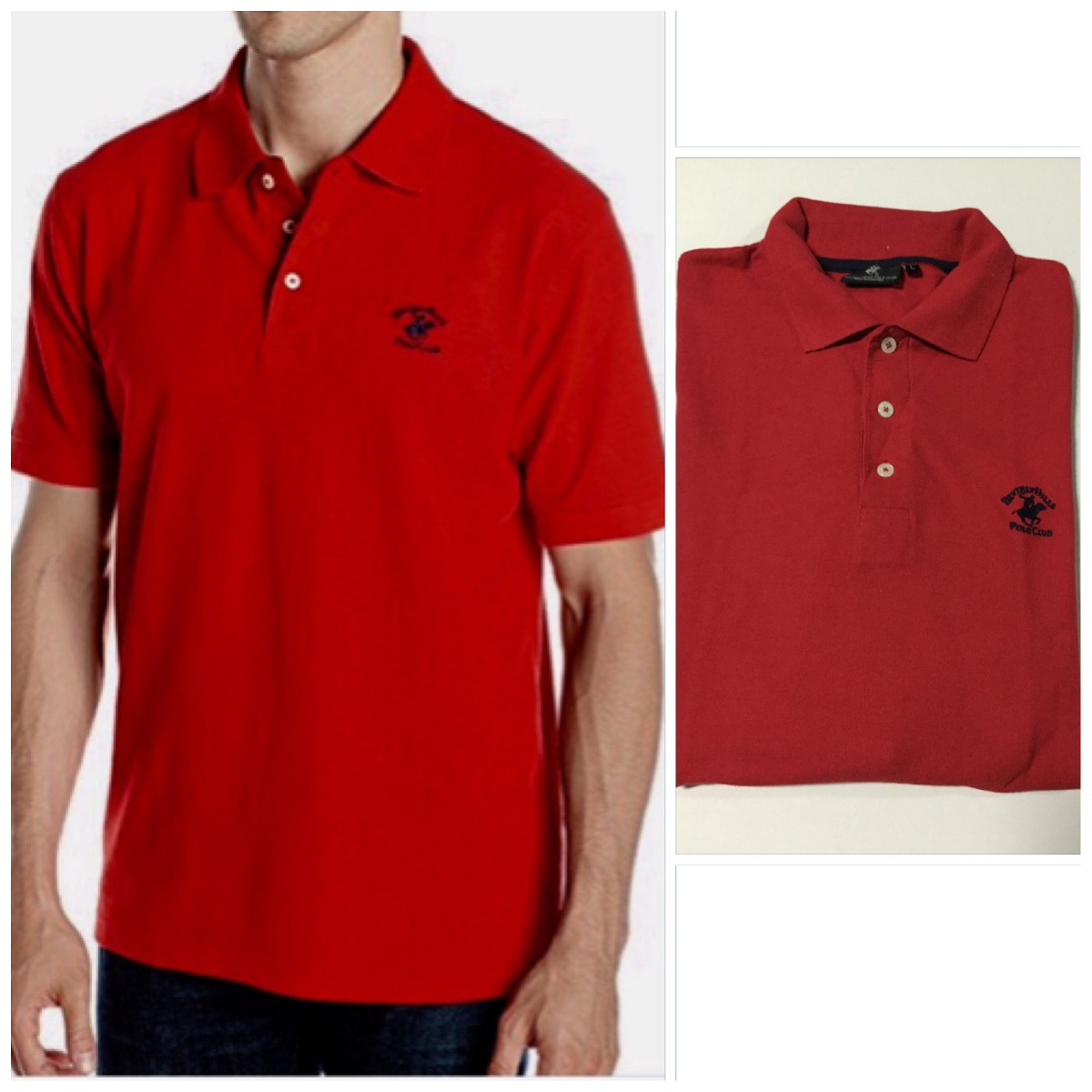 b2ab3941e3 Camisa Polo U.s.polo Assn   Beverly Hills Polo Club Original - R ...