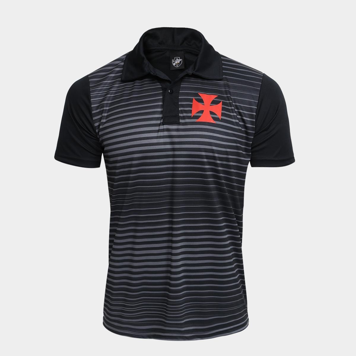 camisa polo vasco spike masculina. Carregando zoom. b4e9073e4371c
