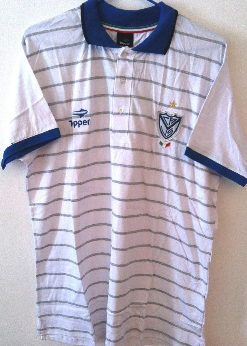 c717baf50b Camisa Pólo Velez Sarsfield Topper Importada Oficial - R$ 139,90 em ...