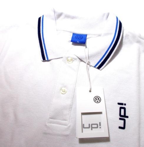 Camisa Polo Volkswagem Up! Branca Gg Oficial Da Alemanha - R  175 8bdf4bffd380b