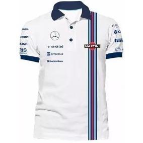 65892cc8f0903 Camisa Polo Williams F1 Original no Mercado Livre Brasil