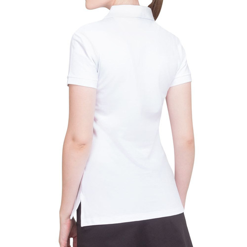 Camisa Polo Wilson Logo Piquet Branca - R  44 e955a757d1c8d