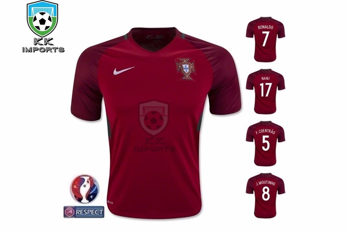 camisa portugal 2016 2017 unif 1 sob encomenda. Carregando zoom. 90318e2855518