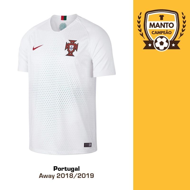 camisa portugal 2018 2019 away uniforme 2 ronaldo sanches. Carregando zoom. dd2910026505c