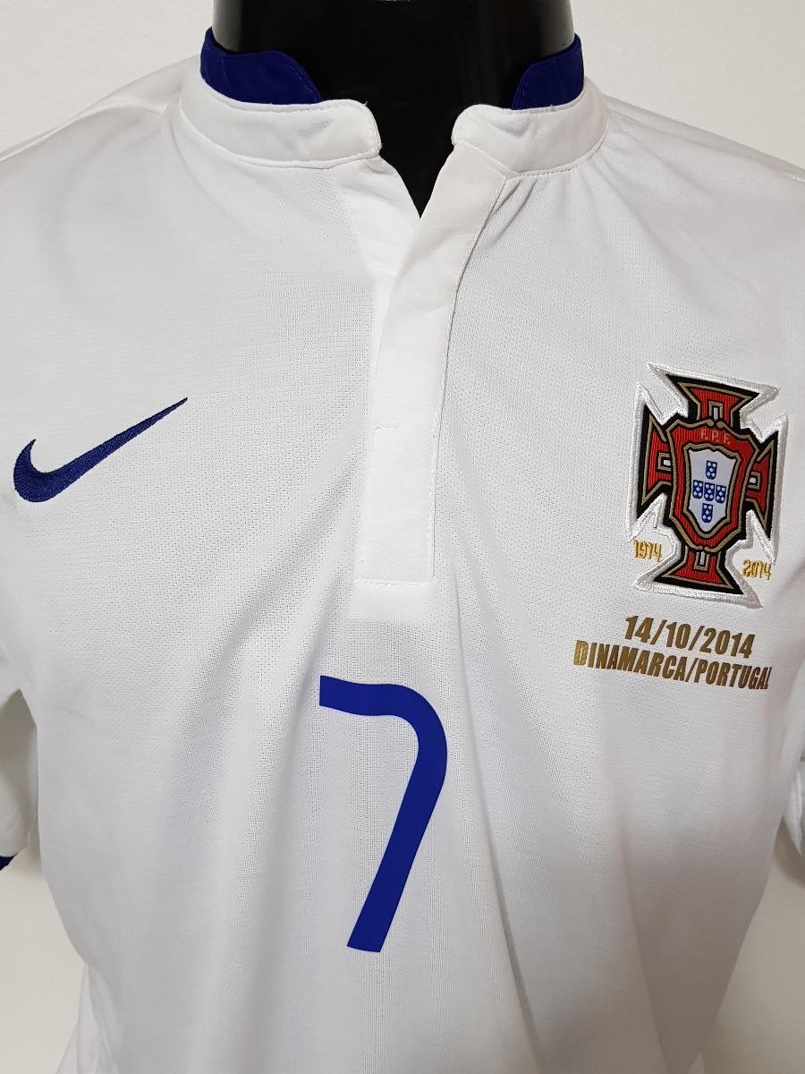 camisa portugal away 14-15 ronaldo 7 vs dinamarca importada. Carregando  zoom. 6d42175dab7b2
