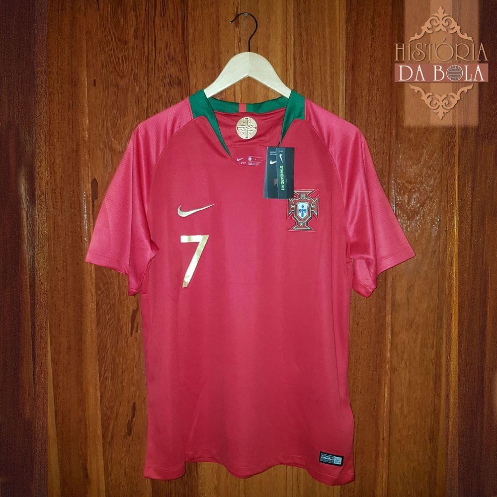 camisa portugal copa 2018 cristiano ronaldo cr7 pronta entre. Carregando  zoom. efc61b809f1ca