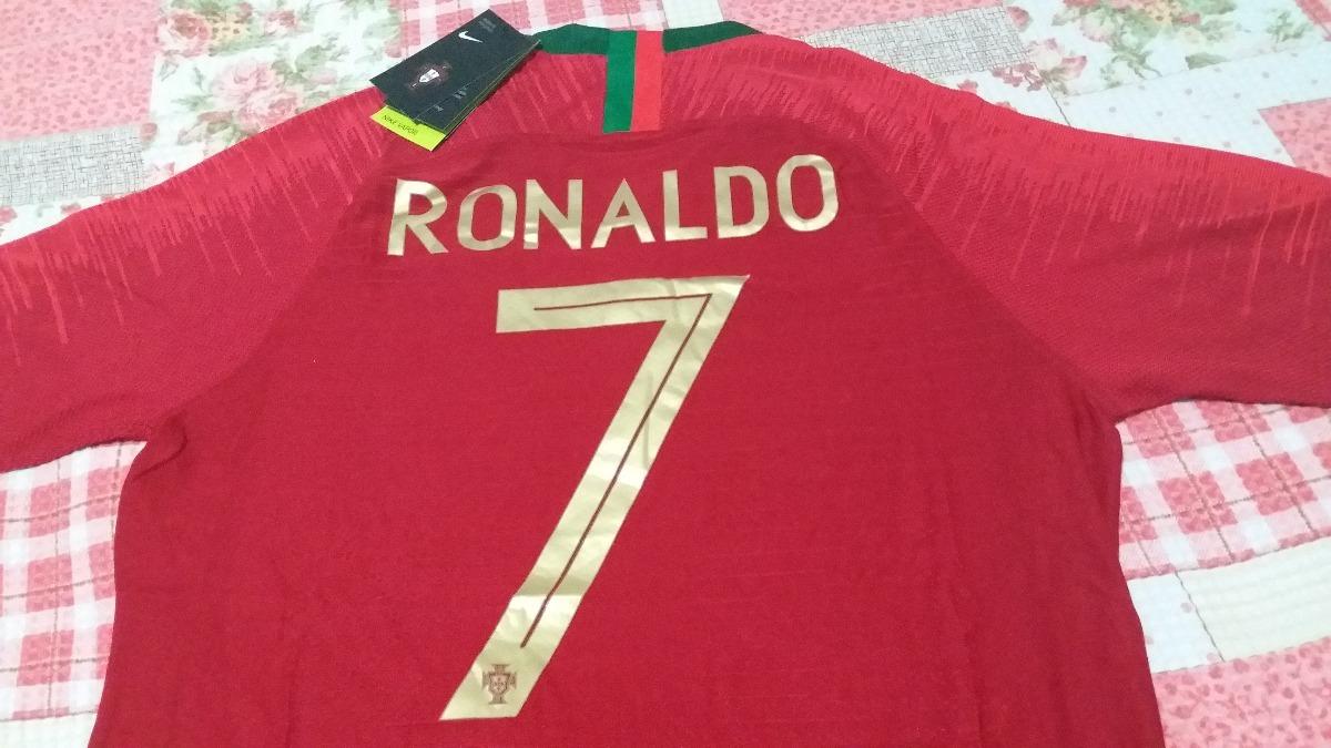 Camisa Portugal Copa 2018 de6ec7f98717d