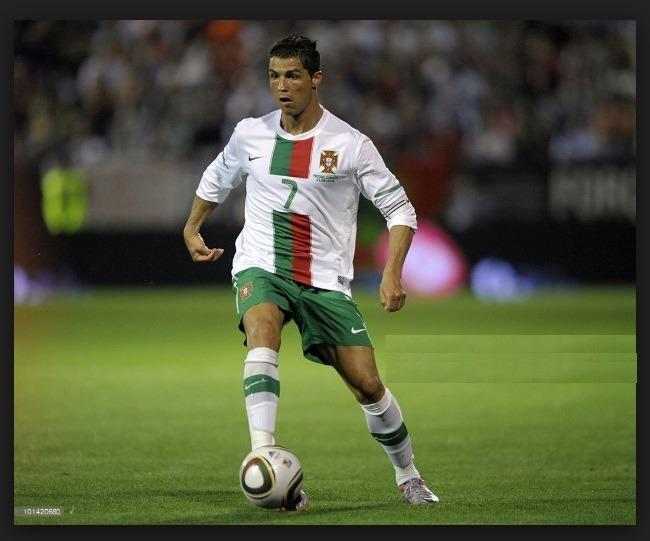 99d0ed82ec Camisa Portugal Cristiano Ronaldo Africa 2010 Nike - Cr - R$ 349,00 ...
