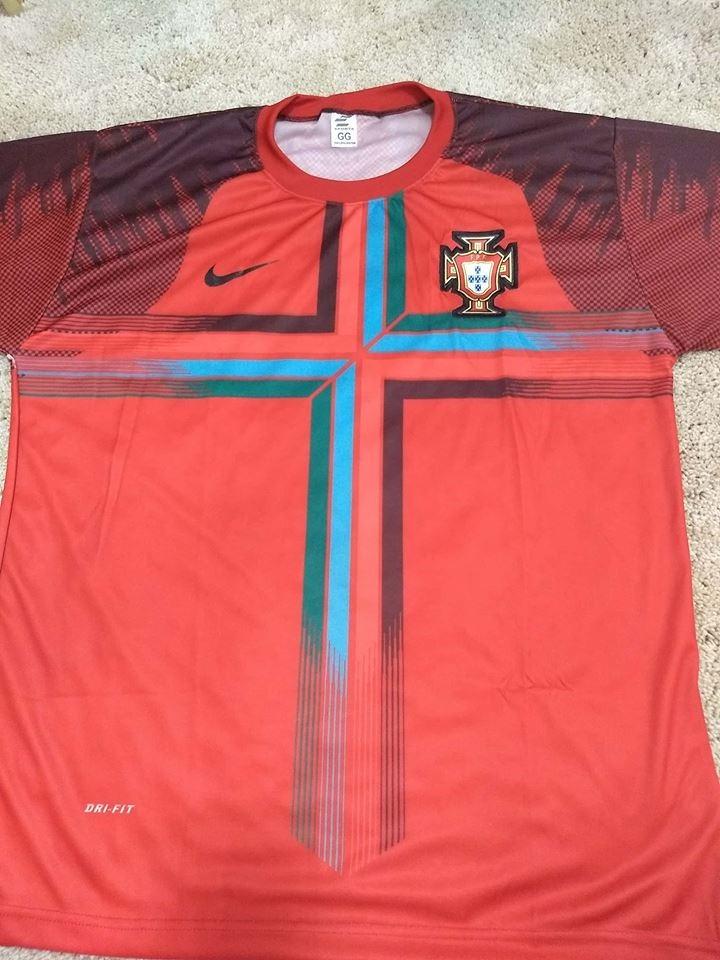 camisa portugal cristiano ronaldo -imperdivel. Carregando zoom. fd2744f5775c9