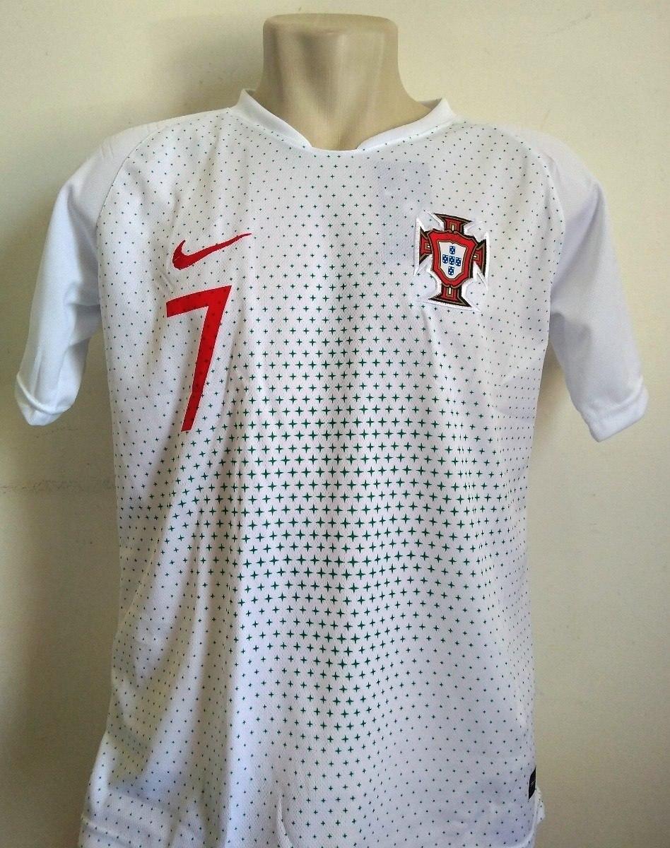 camisa portugal cristiano ronaldo seleção portuguesa nova. Carregando zoom. f8c8e3e44b4c7