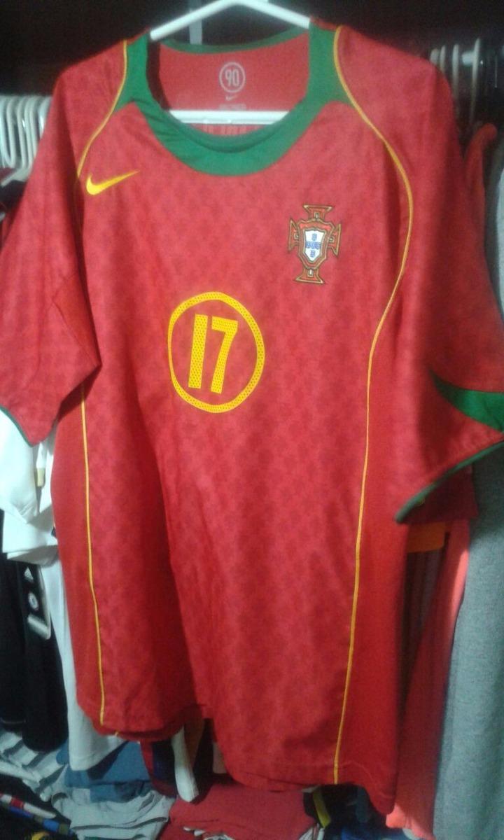 camisa portugal euro 2004   m cristiano ronaldo 17. Carregando zoom. 02c1f41b985e2