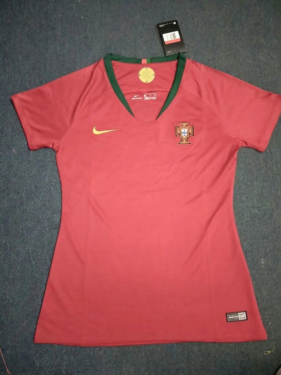 camisa portugal feminina copa mundo 2018 nova - frete gratis. Carregando  zoom. 4ec4fe65cb6b8