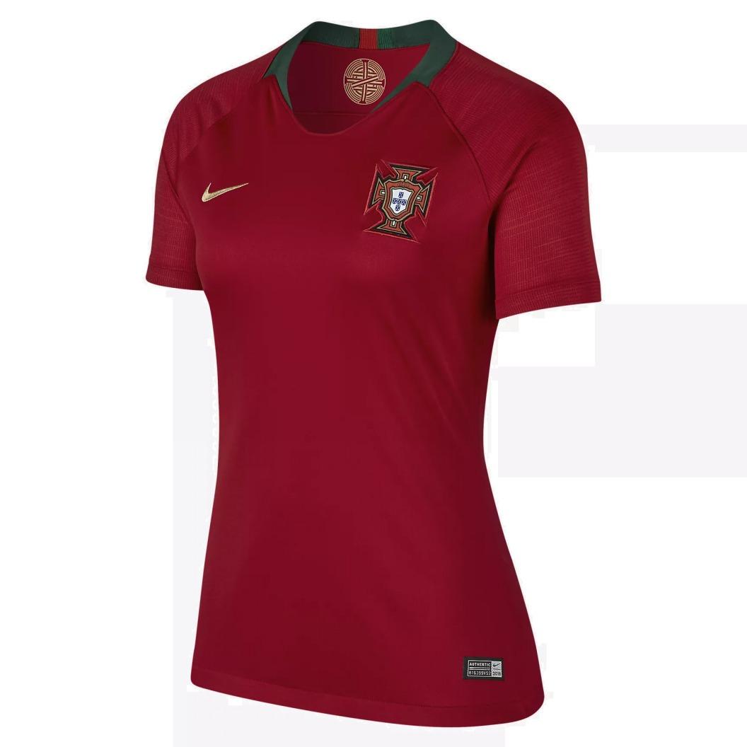 camisa portugal feminina nike copa mundo 2018 - frete gratis. Carregando  zoom. 41fd266606407