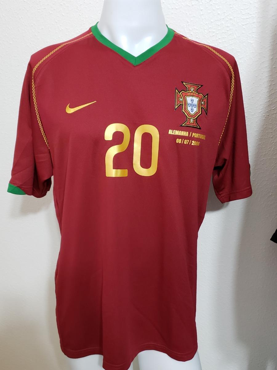 Camisa Portugal Home 06-07 Deco 20 Vs Alemanha Importada - R  300 24da8c841ba4f