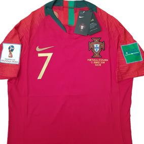 Camisa Portugal Home Match Vaporknit Jogador Pronta Entrega