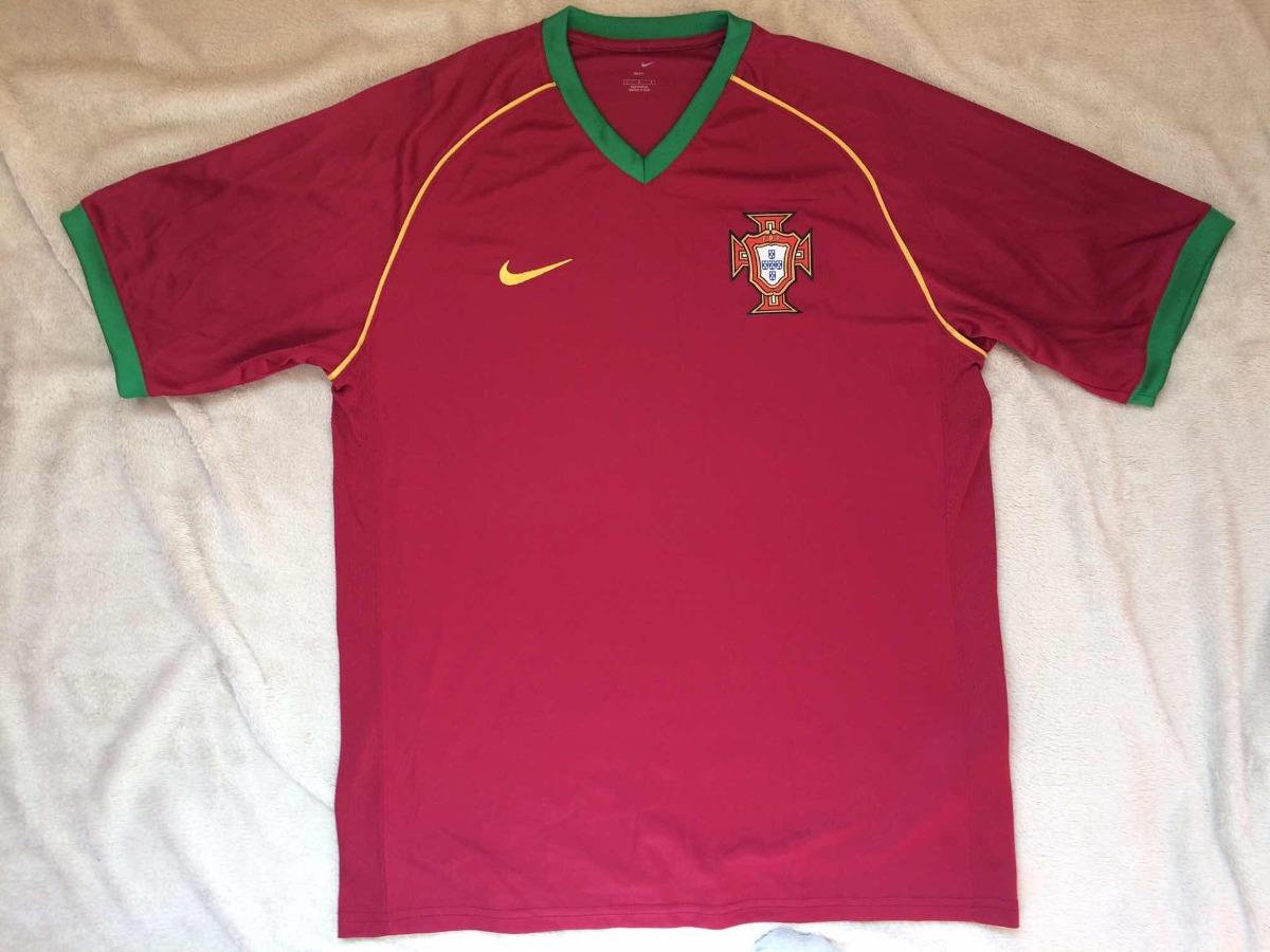 camisa portugal nike 2006 (número 9). Carregando zoom. bb54e65608ad6