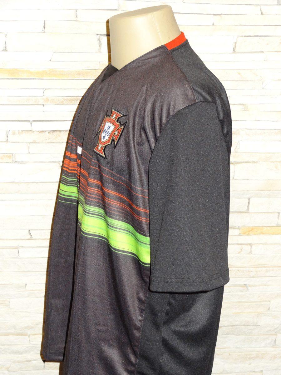 9ee1355121 camisa portugal preta 2015. Carregando zoom.