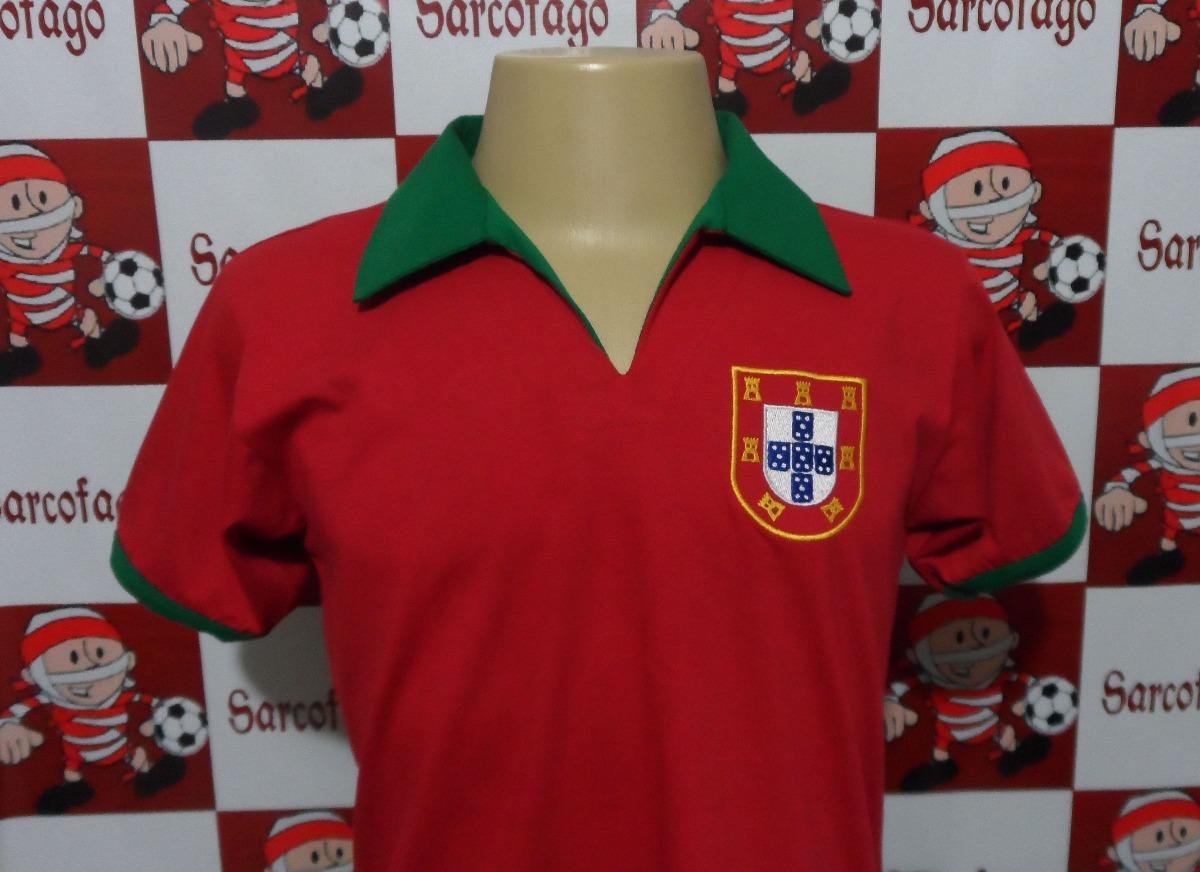 55b09435e9 camisa portugal retro 1966 eusébio. Carregando zoom.