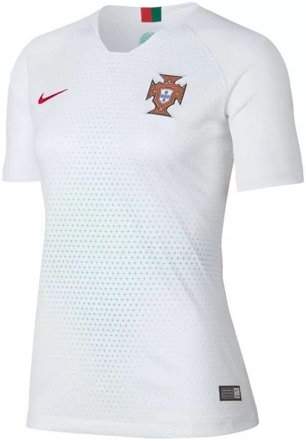bd38eab276368 camisa portugal - uniforme 2 feminina - 2018 - frete grátis. Carregando zoom .