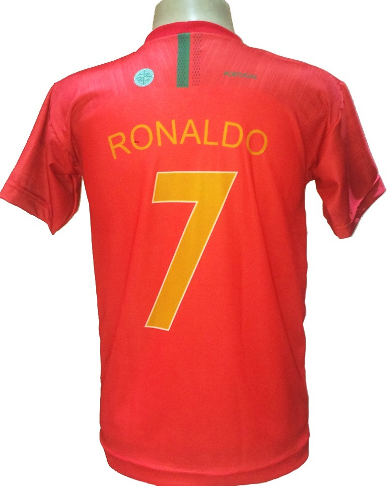 camisa portugal vermelho nova cristiano ronaldo 2018 2019. Carregando zoom. 36f1c05940b68