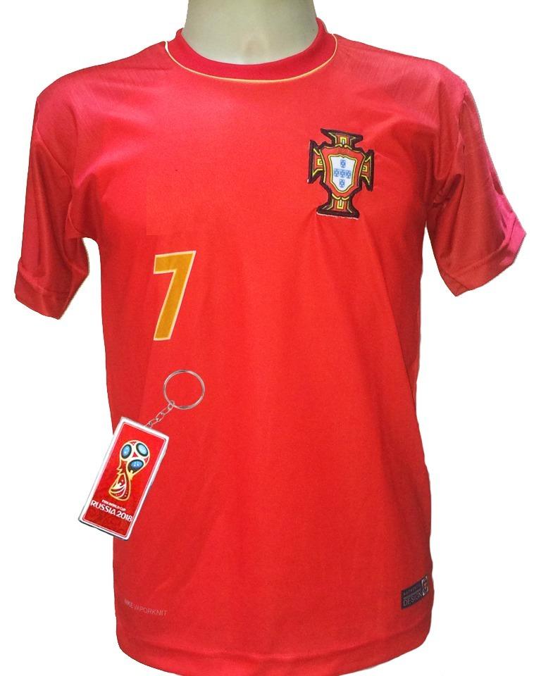 ead949821cdc5 camisa portugal vermelho nova cristiano ronaldo 2018 2019. Carregando zoom.