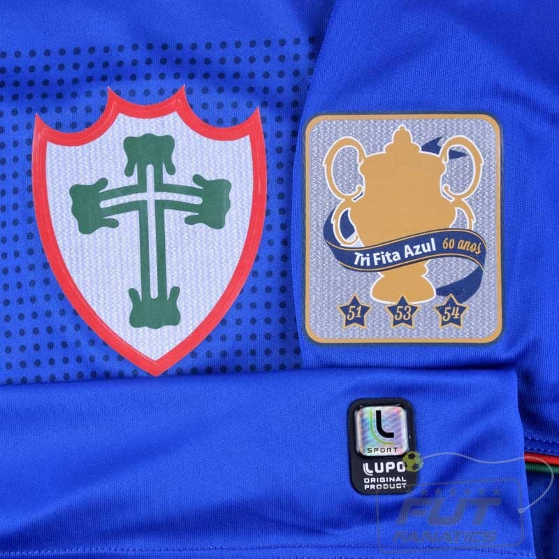 df7b98f464 camisa portuguesa azul lupo oficial comemorativa. Carregando zoom.