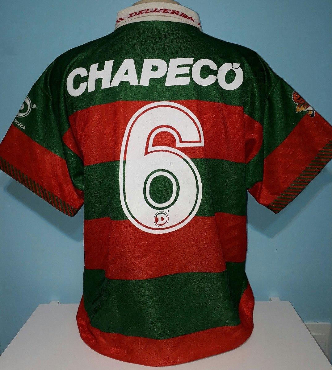 camisa portuguesa chapecó original 1995 lusa impecável - 88. Carregando  zoom. e99fbbe1c964d