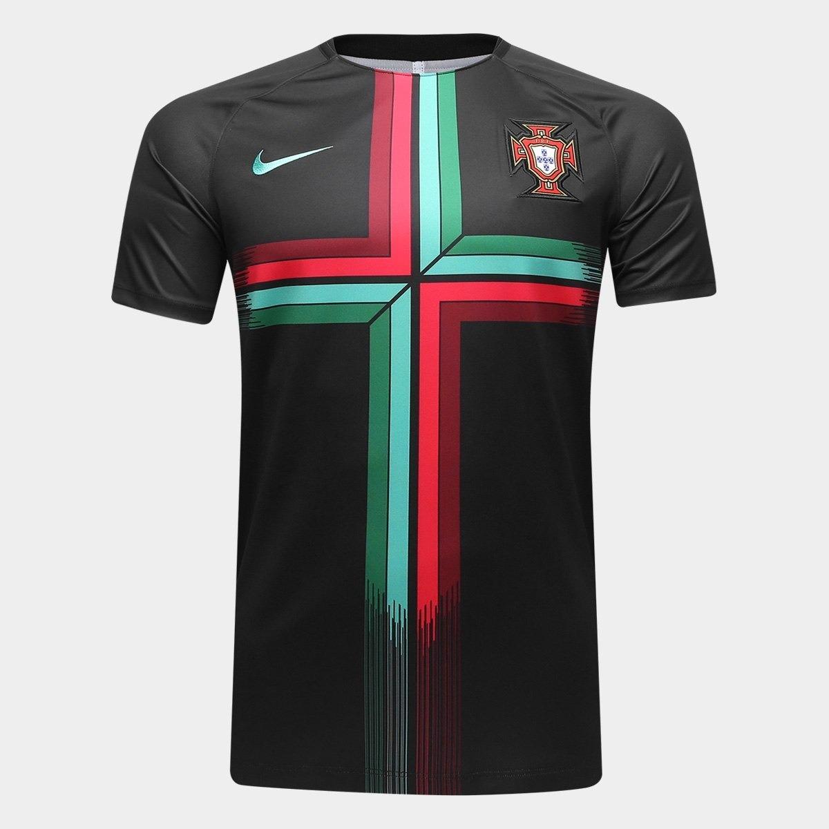 Camisa Portuguesa - Portugal - Preta 0473b7a48eb2c