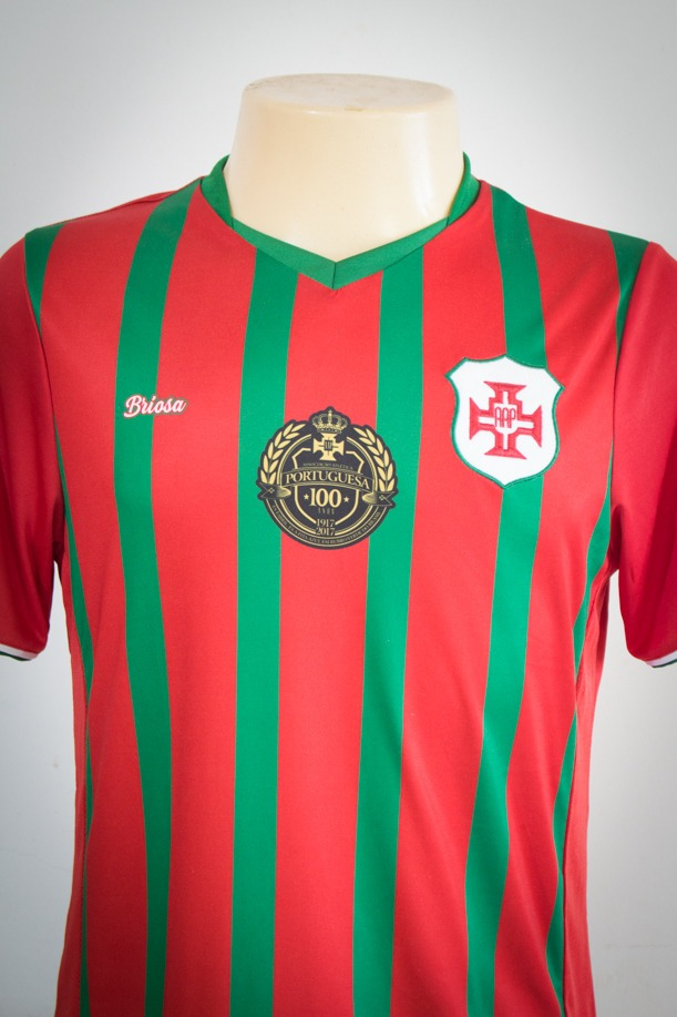 ee96ce04f3 camisa - portuguesa santista - marca briosa - listrada. Carregando zoom.