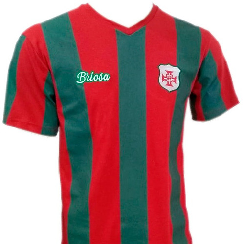 camisa portuguesa santista - retrô - marca briosa - oficial