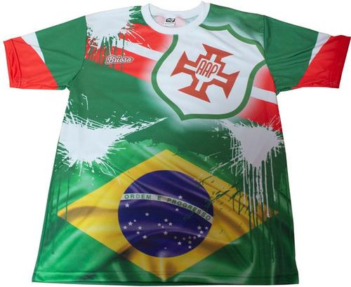 camisa portuguesa santista - torcida brasileira