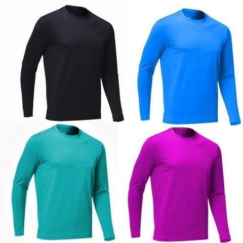 Camisa Praia Pesca Manga Longa Promoção - R  68 a181d1e298df4