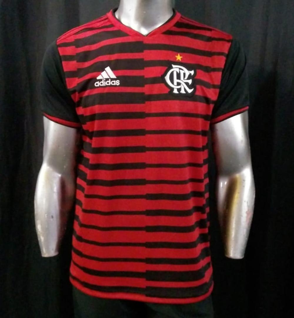 camisa pre jogo rubro negra flamengo 2018 promocao. Carregando zoom. de46f45808cee