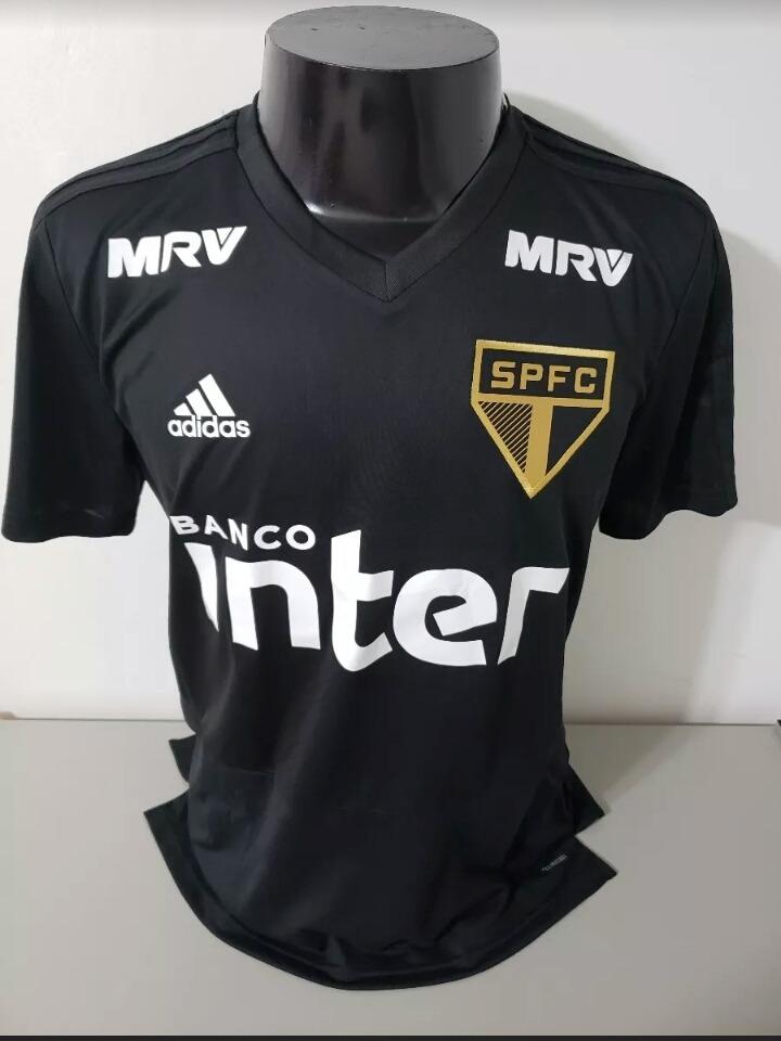... 4aa68ca390d camisa preta do sao paulo adidas de treino nova 2018 2019. Carregando  zoom. aa97052e56c17