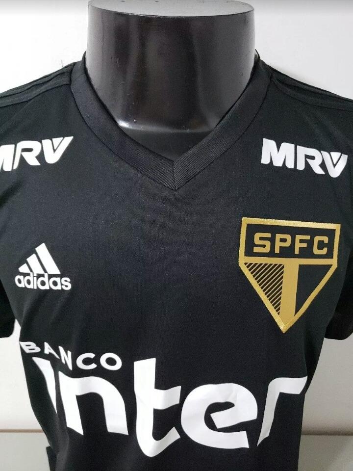 ... 4aa68ca390d camisa preta do sao paulo adidas de treino nova 2018 2019. Carregando  zoom. ... f78ddcdfd1ae8