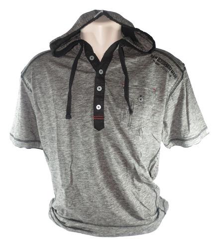camisa projekraw masculina cinza