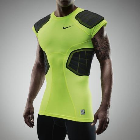 2474bf380 Camisa Proteção Futebol Americano Nike Pro Hyperstrong Pad M - R  90 ...