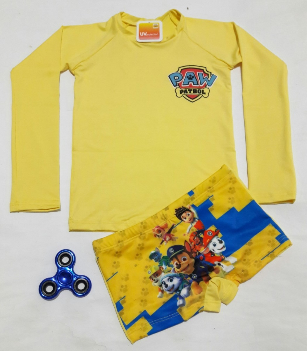 fa0dea6df Camisa Proteção Solar Uv 50 + Sunga Infantil Menino Surf - R  47