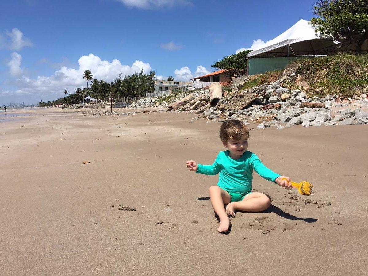 Camisa Proteção Solar Uv Bebê (menino E Menina) - R  54 b6787e9d83f