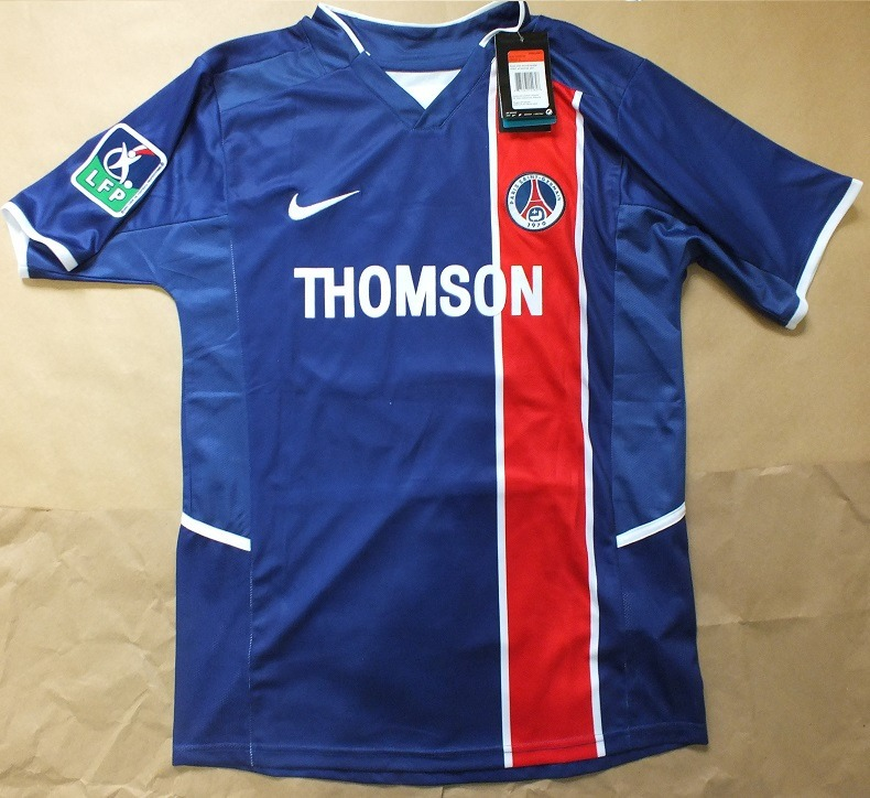 Camisa Psg 2002 Ronaldinho Paris Saint Germain - R  189 cd33db471735a