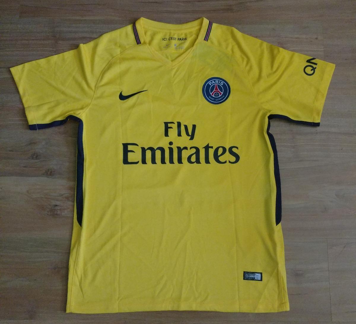camisa psg away 17 18 neymar jr 10. Carregando zoom. ca6747d3af935