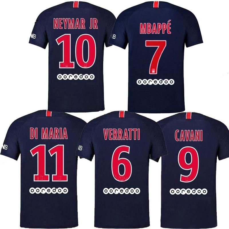 f7df3b1d1a637 camisa psg home 2018 2019 neymar mbappe cavani original. Carregando zoom.