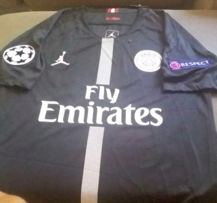 b953bbf24 Camisa Psg Jordan Neymar Oficial Champions League - R  125